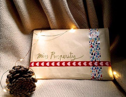 Miss Prosperity viaja de nuevo por Navidad…