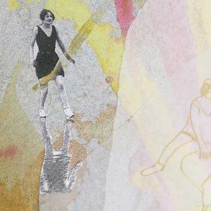 """fragmentación del cuadro """"tu continente"""""""