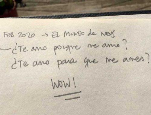 ¿Te amo porque me amo? o ¿Te amo para qué me ames?
